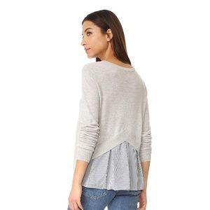 Autumn Cashmere Peekaboo Sweater, size M, EUC